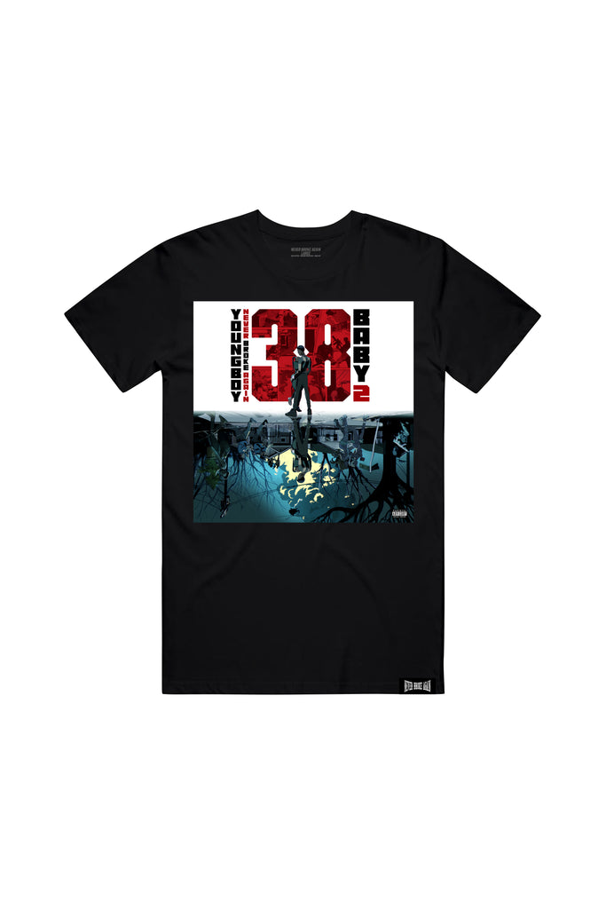 38 Baby 2 Album T-Shirt - Black + 38 BABY 2 DIGITAL ALBUM