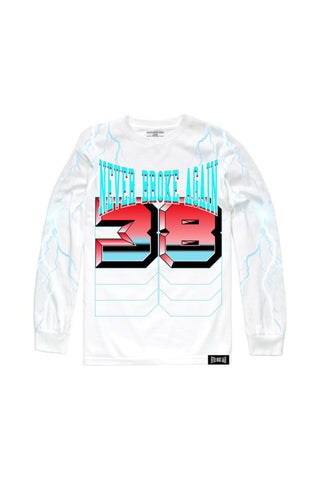 Lightning Long Sleeve - White