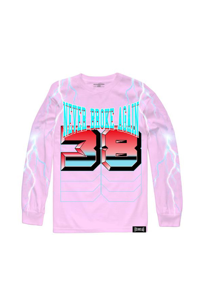 Lightning Long Sleeve - Pink