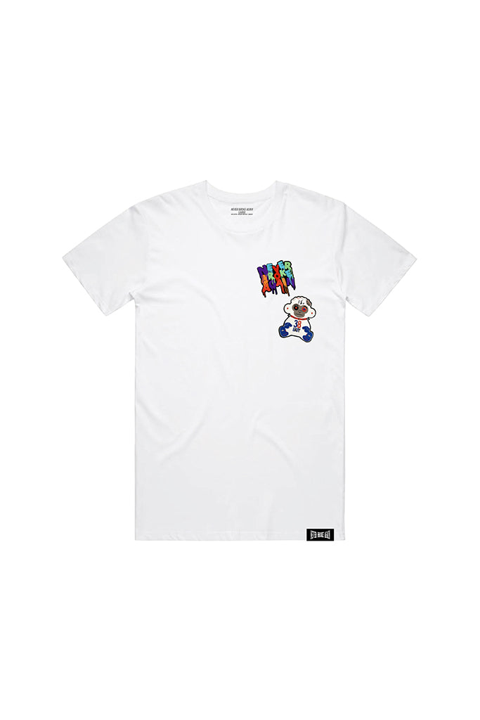 Double Patch T-Shirt - White