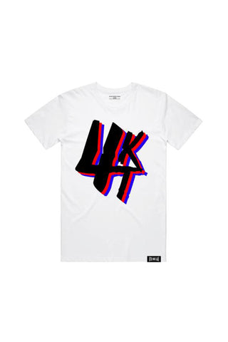 Turbulence 4KT T-Shirt - White