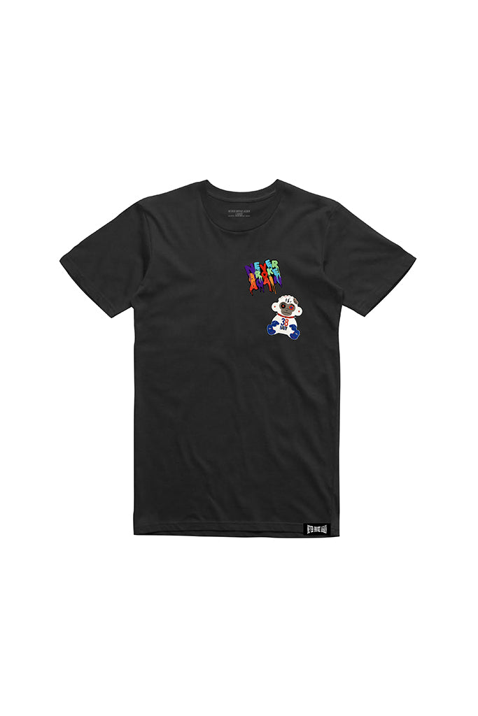 Double Patch T-Shirt - Black
