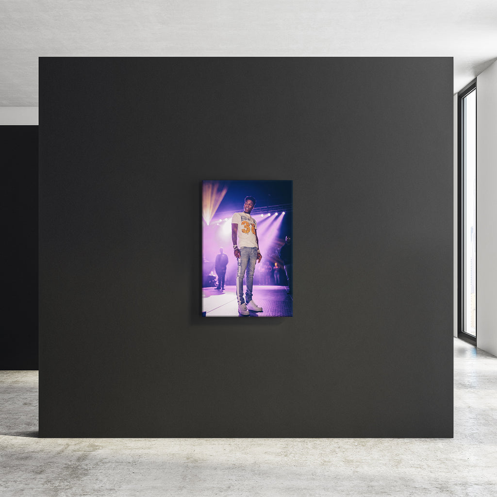 NBA Lights - Premium Stretched Canvas