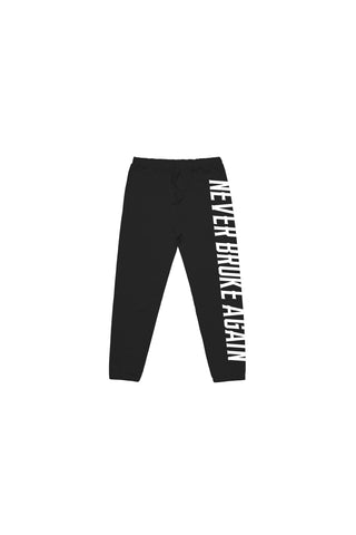 Never Broke Again Kids Charge Joggers - Black
