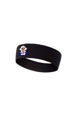 38 Baby Monkey Headband - Black