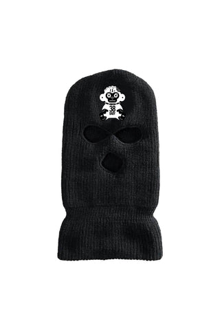 Monkey Ski Mask - Black