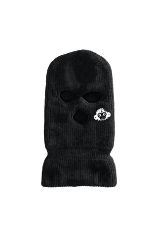 Monkey Head Ski Mask - Black