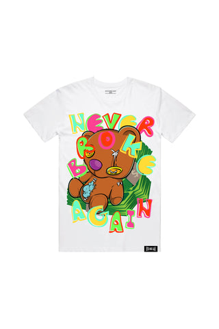 Stash Bear Tee - White
