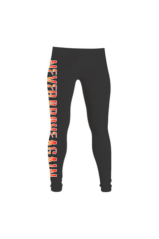 Flame Leggings - Black