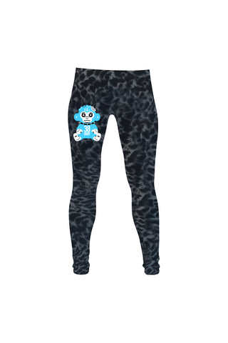 Blue 38 Baby Monkey Leggings - Leopard