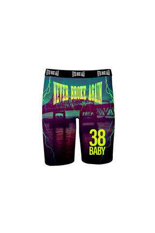 NBA Baton Rouge Boxer Briefs - Green