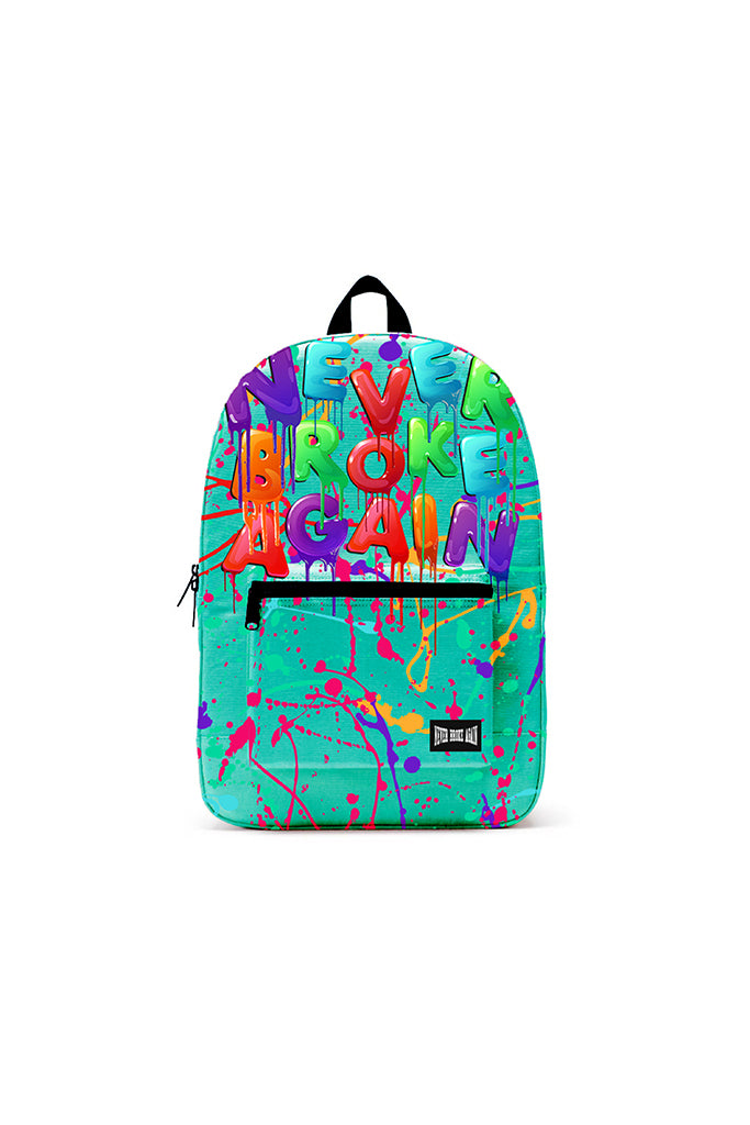 (PRE-SALE) Never Broke Again Drip Backpack - Teal