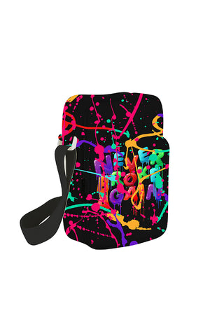 Never Broke Again Drip Man Bag - Black