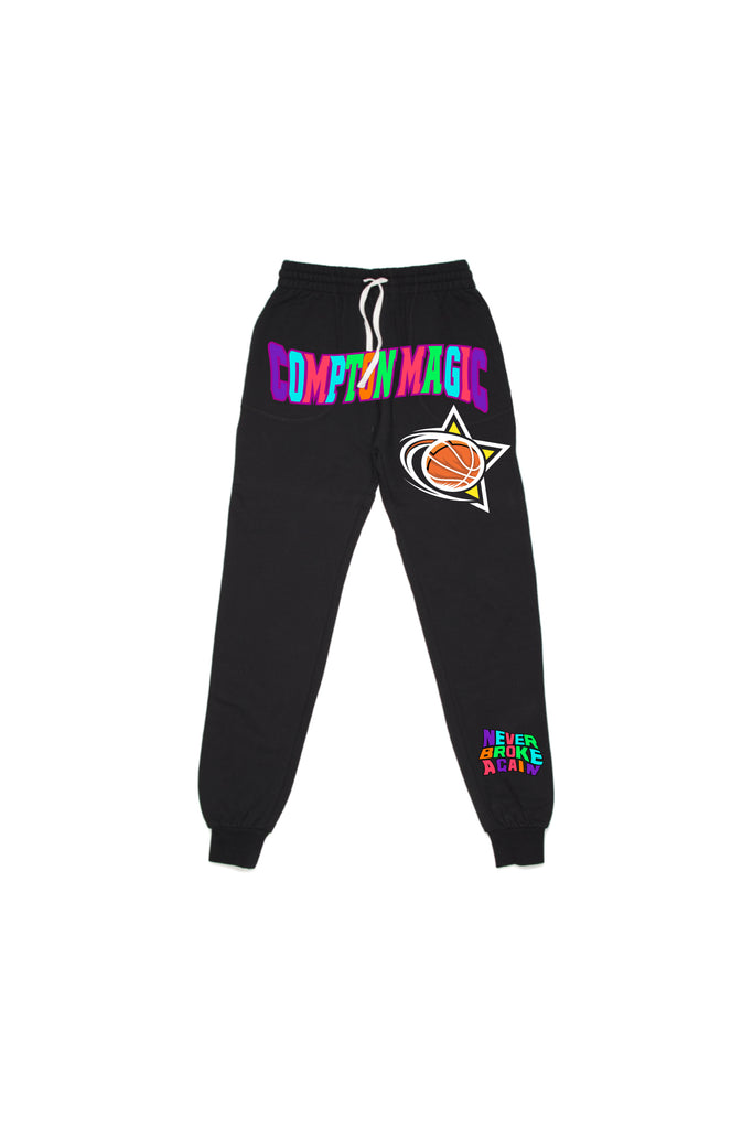 Compton Magic All Star Joggers - Black