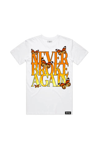 NBA Butterflames Tee - White