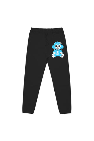 Blue Monkey Joggers - Black