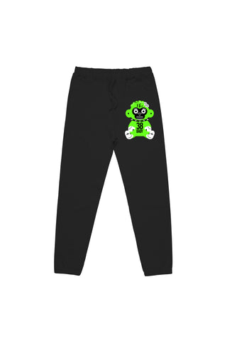 Green Monkey Joggers - Black