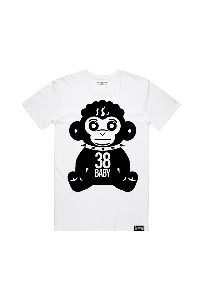 38 Monkey Black - White