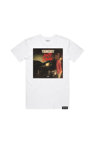 Dirty Iyanna Tee - White