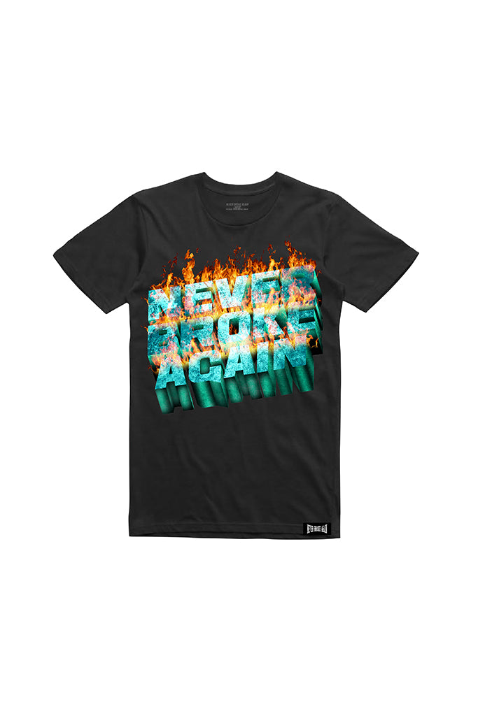 Up in Flames T-Shirt - Black