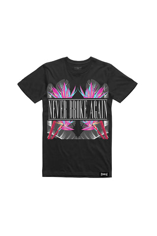 Never Broke Again Vacation T-Shirt - Black