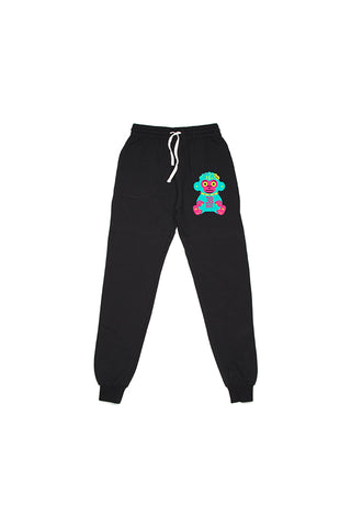 Neon 38 Baby Patch Joggers - Black