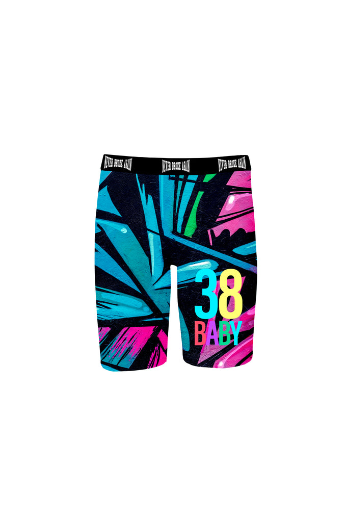 38 Baby Graffiti Boxer Briefs - Blue