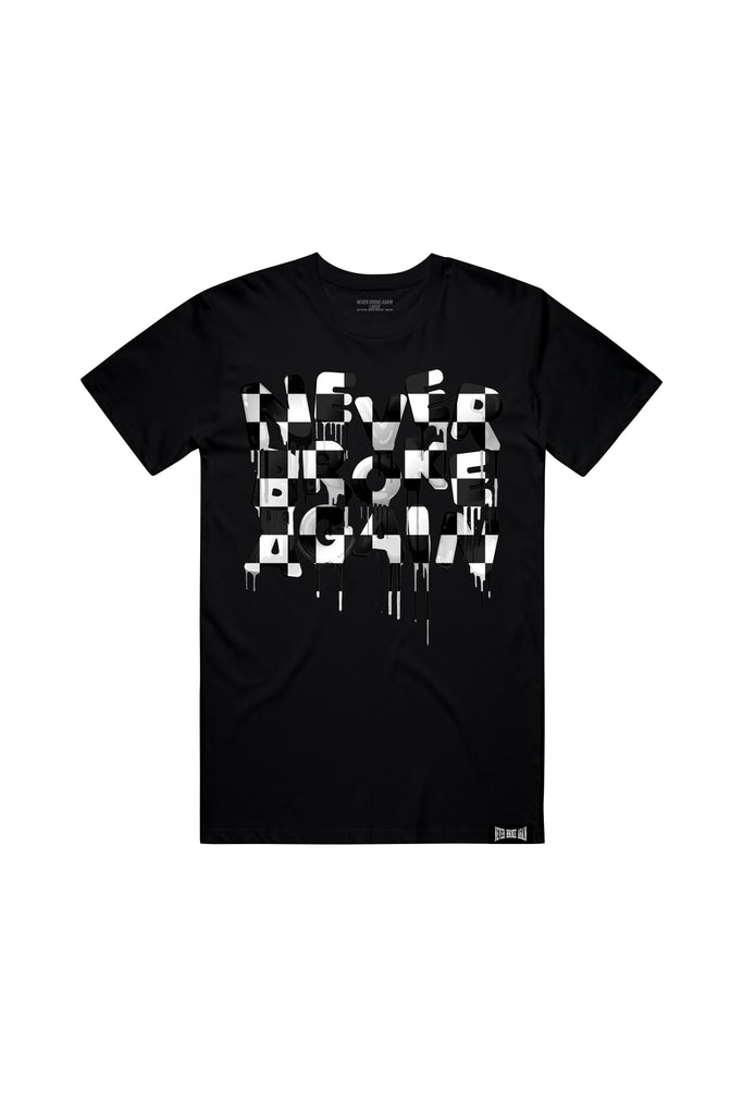 Drip Checkers - Black