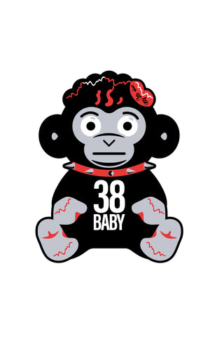 38 Baby Monkey POP cut out