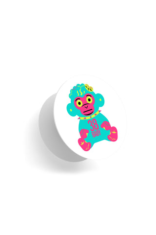 Neon 38 Baby Monkey Pop Socket