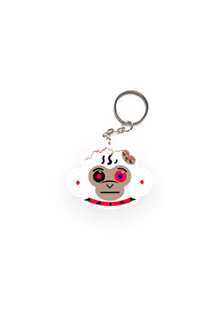 4KT 38 Baby Monkey Head Key Chain