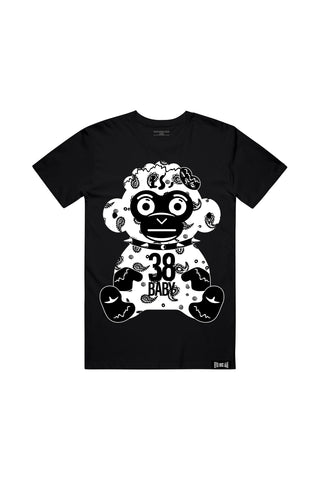 Paisley Monkey T-Shirt - Black