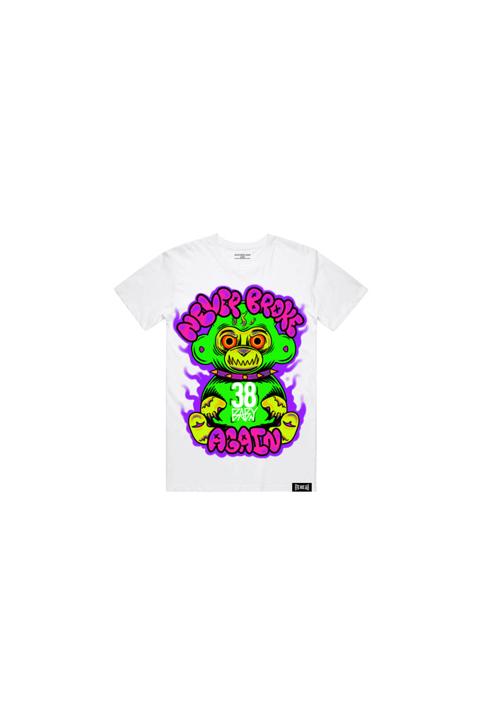 Graffiti 38 Baby Kids T-Shirt - White