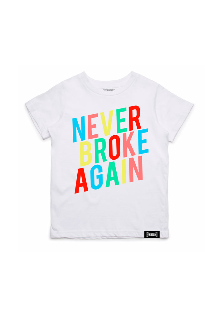 Colors Kids T-Shirt - White