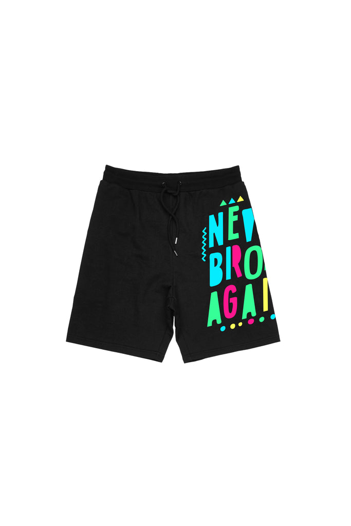 Birthday Shorts - Black