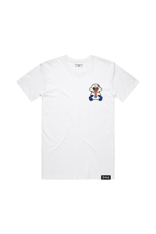 38 Baby 4KT Patch T-Shirt - White