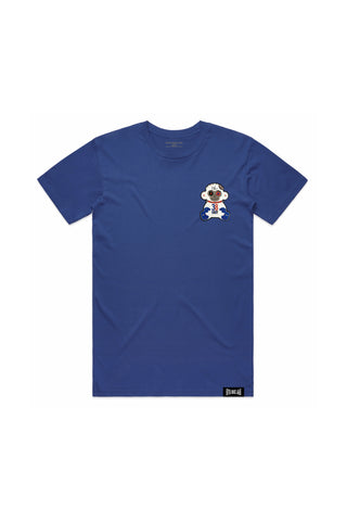 38 Baby 4KT Patch T-Shirt - Royal Blue