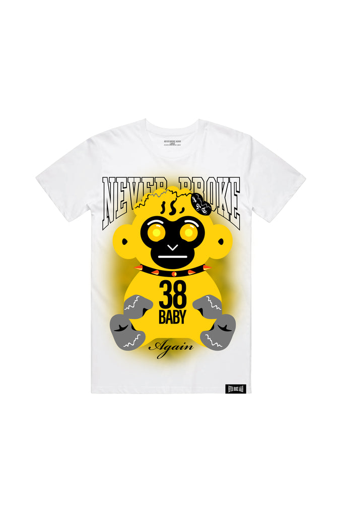 Yellow Haze T-Shirt - White