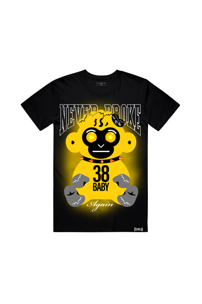 Yellow Haze T-Shirt - Black