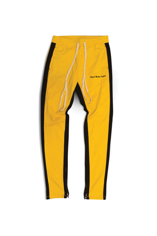 OE NBA TRACK PANT - Yellow/Black