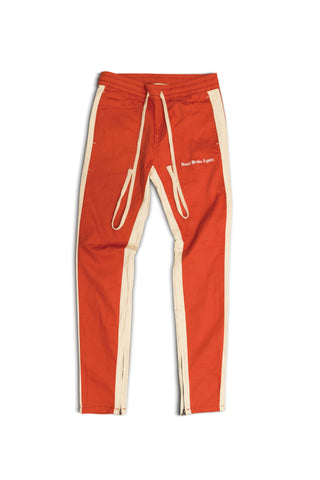 OE NBA TRACK PANT - orange/bone