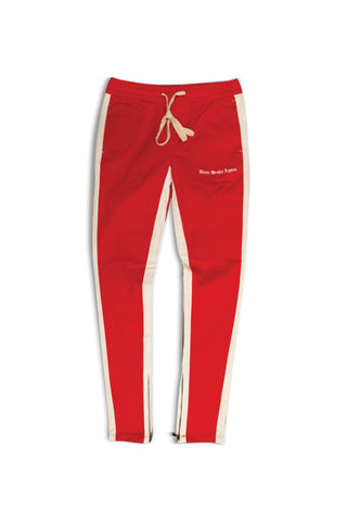 OE NBA TRACK PANT - Red/White