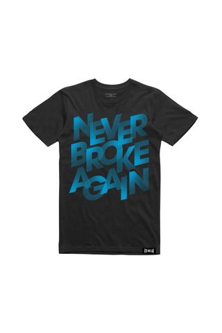 Never Broke Again Lines T-Shirt - Black
