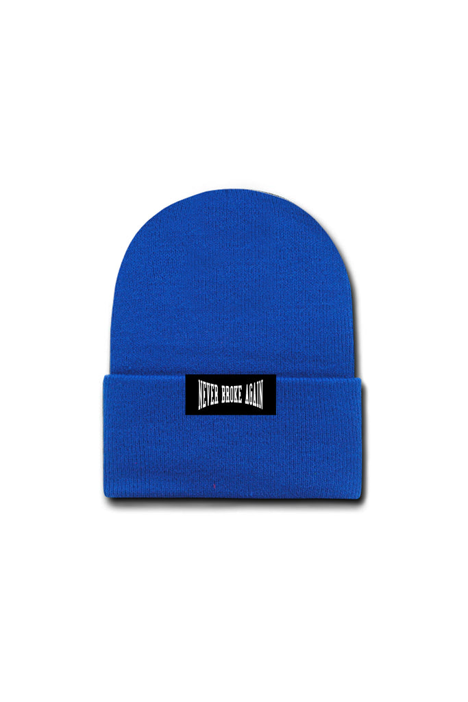 Never Broke Again Beanie - Royal Blue