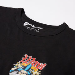 Stacey Wave Slave Tee - Black