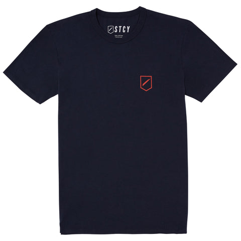 SLASH 2 TEE - NAVY