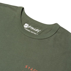 Stacey Lowdown Tee - Army