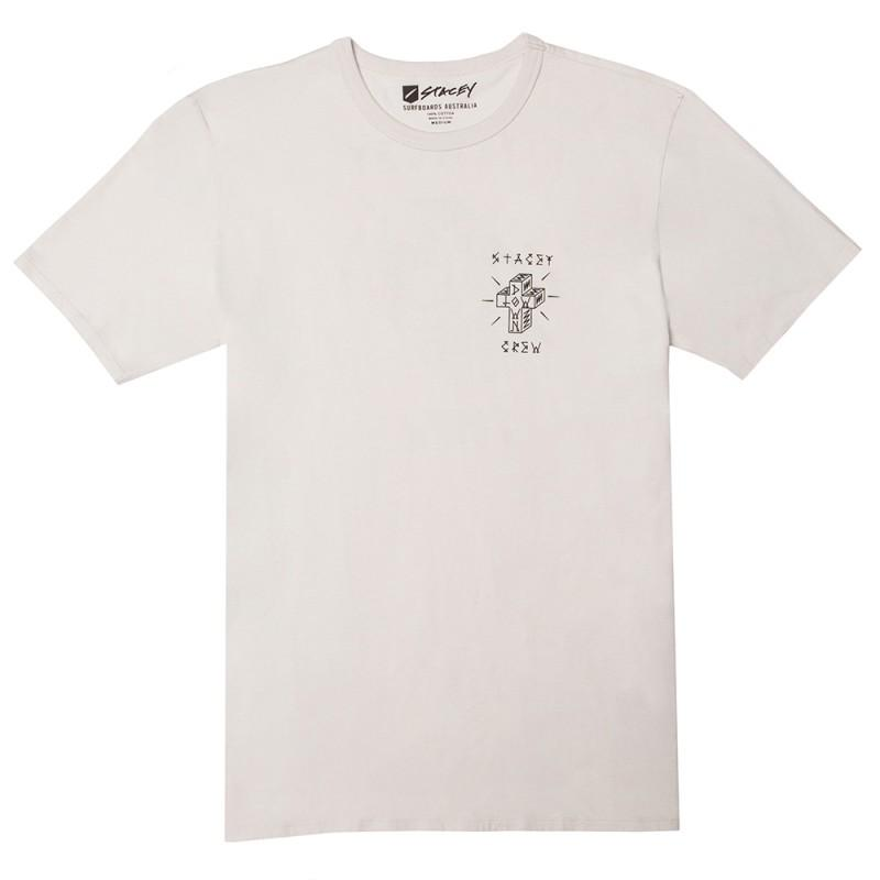 Stacey Lowdown Tee - Natural