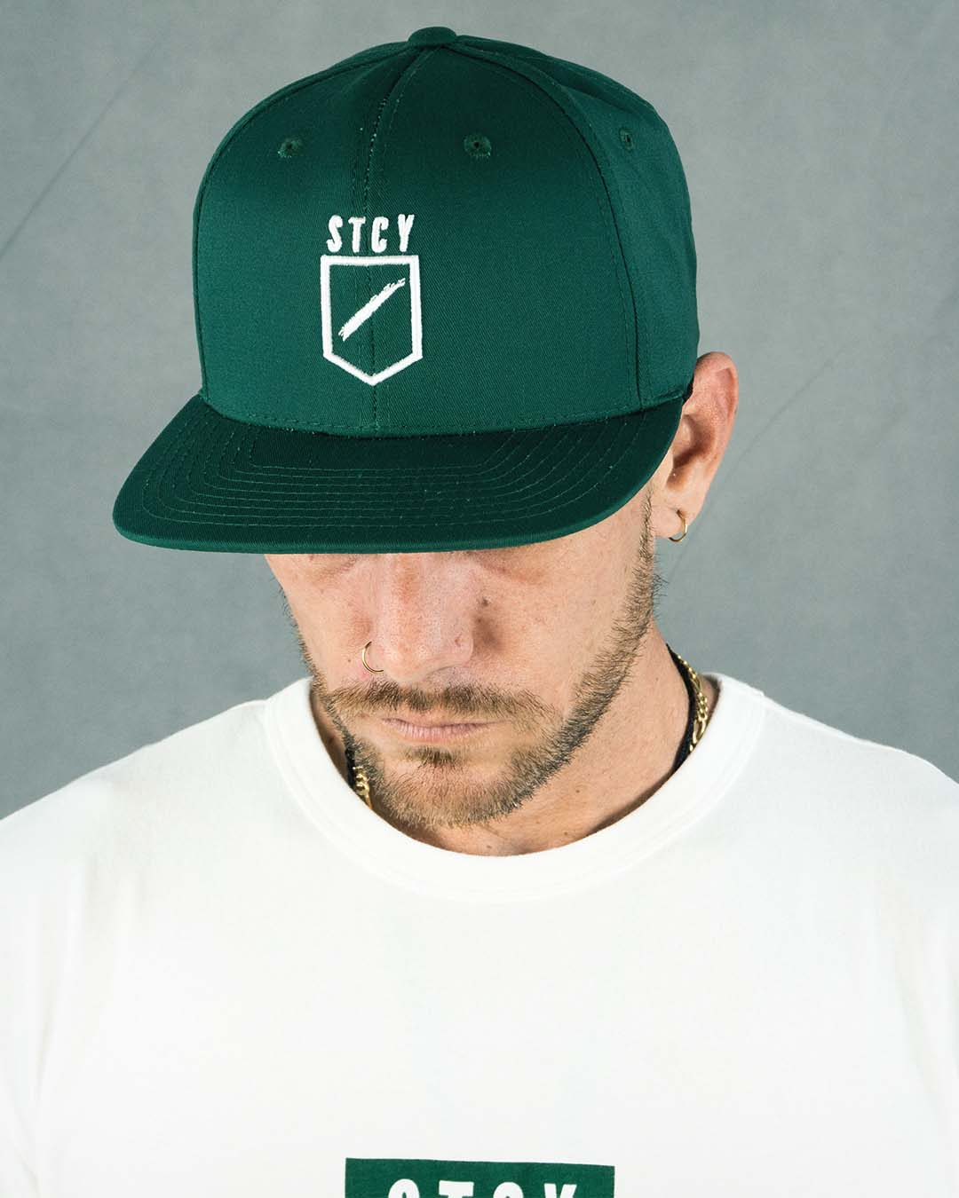 TEAM SNAP BACK - GREEN