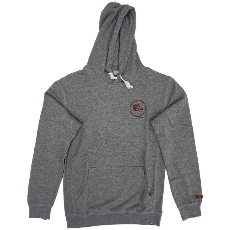 DEAD HEAD HOODED FLEECE - GREY